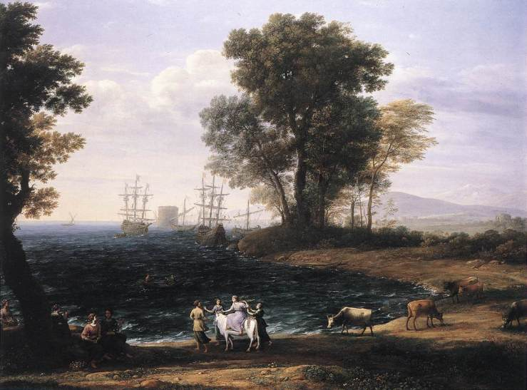 Claude_Lorrain_-_Coast_Scene_with_the_Rape_of_Europa_-_WGA05012