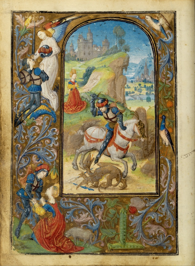 Lieven_van_Lathem_(Flemish_-_Saint_George_and_the_Dragon_-_Google_Art_Project