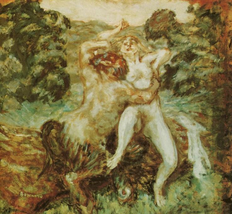 Pierre-Bonnard-1907-Pan-et-la-Nymphe