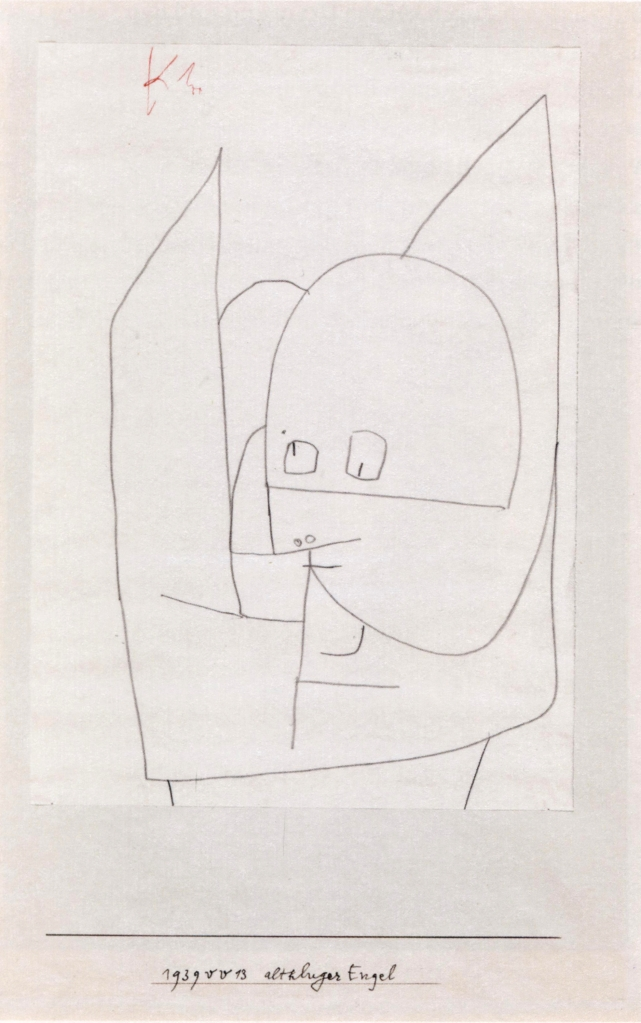 Paul_Klee_-_Altkluger_Engel_-_1939