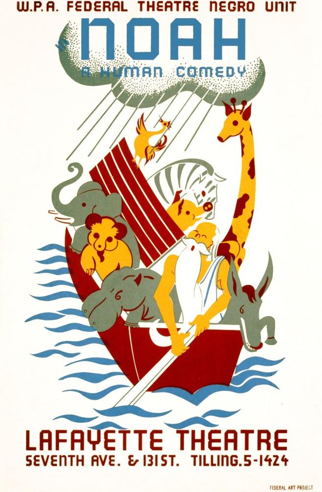 Noah,_a_human_comedy,_WPA_poster,_1936