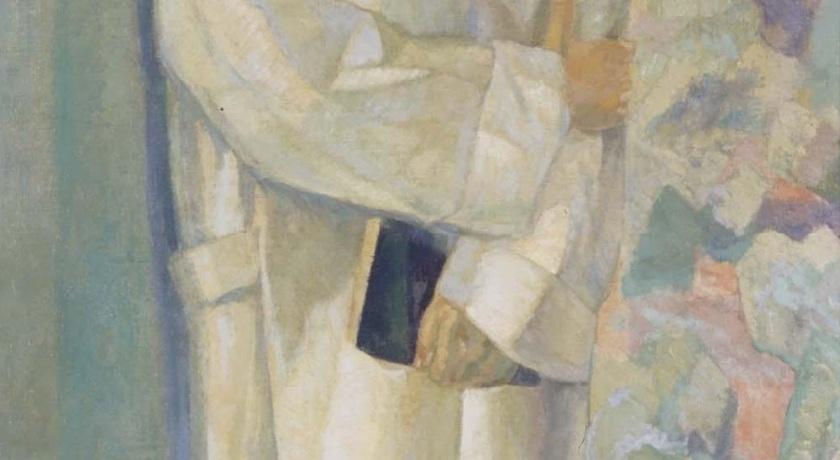 Daniel Vázquez Díaz - Rubén Darío vestido de monje, 1914