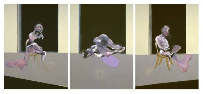"""Triptych - August 1972"" (1972) de Francis Bacon"