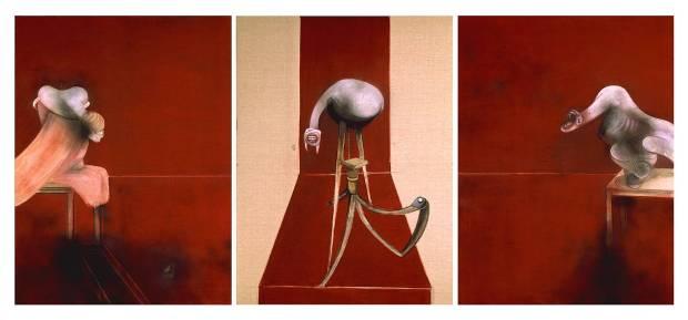 """Second Version of Triptych 1944"" (1988) de Francis Bacon"