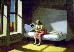 """Summer in the City"" de Edward Hopper (1950)"
